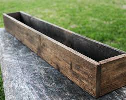 40 44 And 48 Rustic Planters Box 5