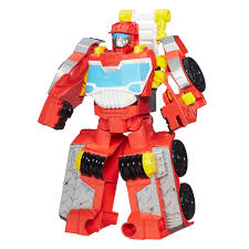 100 Rescue Bots Fire Truck Playskool Heroes Transformers Elite Heatwave Figure