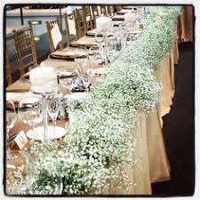 Indianapolis Museum Of Art Head Table Floating Candles Babys Breath Garland
