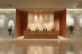 DecorationsHotel Lobby With Formal Reception Desk Idea Modern Decoration For Hotel Design Ideas