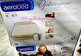 Aerobed Queen With Headboard by Costco Sale Aerobed Opticomfort Queen Airbed With Headboard
