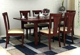 Online Dining Table Set Folding Wooden 6 Price In India