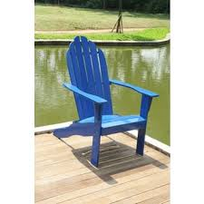 Adams Adirondack Chair Pool Blue by Adirondack Chairs Blue Patio Furniture Shop The Best Outdoor