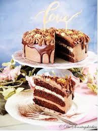 backen für das brautpaar schokoladentraum torte mit