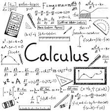 Calculus Law Theory And Mathematical Formula Equation Doodle Handwriting Icon In White Isolated Paper Background With