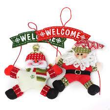 41 Santa Suit Christmas Door Decoration Christmas Decoration