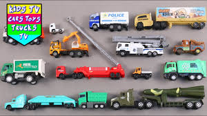 100 Trucks For Toddlers Kids Children Babies Learn Vehicles Kids