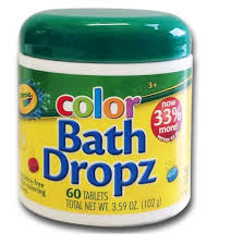 crayola color bath drops 45ct target