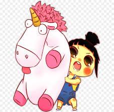 Agnes Drawing Unicorn Despicable Me