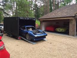 Vehicle Breakdown Recovery Classic Car Transport Relocation Fully Covered Enclosed Trailer