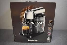 Nespresso VertuoLine Machine Maker Chrome