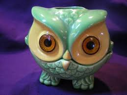 The Allee Willis Museum of Kitsch  Owl Candle Holder