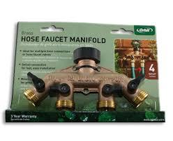 Orbit Hose Faucet Timer by Orbit Brass Hose Faucet U0026 Bib Manifold Sprinkler Warehouse