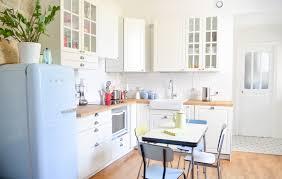d馗oration int駻ieure cuisine inspirant intérieur idées de décoration à cuisine blanc casse ikea