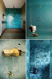 Teal Bathroom Tile Ideas by Best 25 Green Bathroom Tiles Ideas On Pinterest Blue Tiles