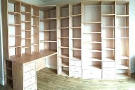 bibliothèque avec bureau intégré bibliotheque de bureau meuble bibliotheque avec bureau integre
