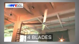 Hvls Ceiling Fans Residential by Big Fan Installer Hvls Safe And Durable Youtube