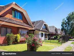 100 Houses In Chile An Houses In Valdivia Stock Photo Wastesoul 161941302