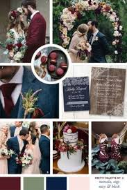 50 Refined Burgundy and Marsala Wedding Color Ideas for Fall Brides