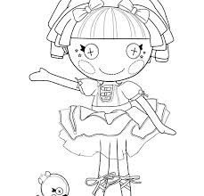 Free Printable Lalaloopsy Coloring Pages