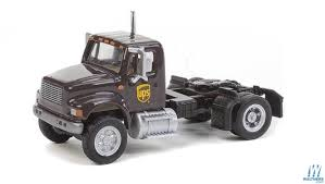 Walthers Scenemaster International 4900 Series Sgl Axle Semi Tractor ...