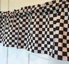 Checkered Flag Bedroom Curtains by Nascar Curtains Ebay