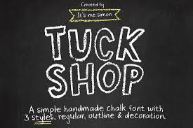 A Chalkboard Style Font For Designing Playful And Fun Posters The Comes In 3 Styles Features Over 70 Ornaments Styling Your Designs