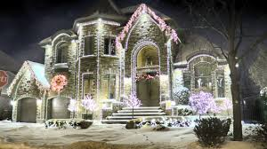 100 Decoration Of Homes Million Dollar Decorated With Christmas Lights In Montreal QC Canada