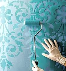 Diy Bedroom Wall Paint Ideas Consider Stenciling Painted Walls To Add Character The Space