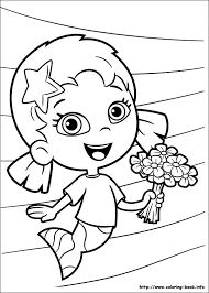 Bubble Guppies Coloring Pages On Book