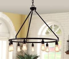 Large Rustic Urban Chandelier Modern Bronze Industrial Dining Table Lighting 9