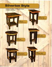 Silverton Style Amish Occasional Tables