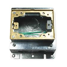 Hubble Poke Through Floor Boxes by Hubbell Wiring Device Kellems Floor Box 3 1 4 In Opening 39 5 Cu