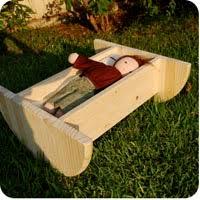 doll cradle wood pattern free patterns
