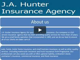100 Progressive Commercial Truck Insurance JA Hunter Agency IN Bothell On Vimeo
