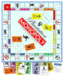 Monopoly Property Card Template Blank Game Board P L A N T I O M Y G E Empty Definition