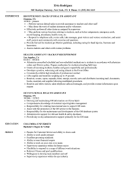 Download Health Assistant Resume Sample As Image File