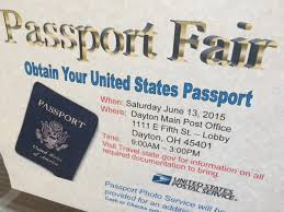 Post fice holds passport fair for travelers