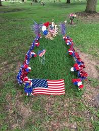 memorial day graveside decorations oh i this idea maybe at the foot of s grave cemetery