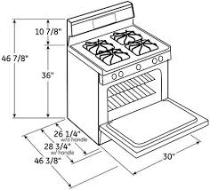 Hotpoint Main Image Dimensions Diagram