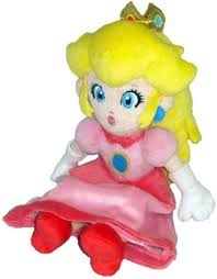 amazon com super mario plush 8 princess peach soft stuffed