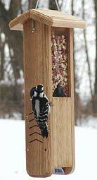 Woodpecker Feeder Plan