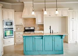 Teal Green Kitchen Cabinets by Distressed Teal Kitchen Cabinets Home Design Ideas