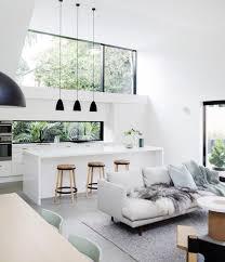 cuisine blanche ouverte sur salon 1001 conseils et idées pour une cuisine ouverte sur le salon