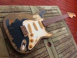 Image Is Loading John Mayer Custom Built Relic Strat Electric Guitar
