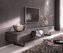 designer lowboard wyatt 220 cm platina 4 laden meubels