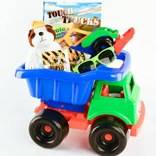 Tough Truck Kids Gift Basket - Outside And In