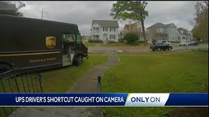 UPS Delivery Driver Caught On Camera In New Orleans Cutting Across ...