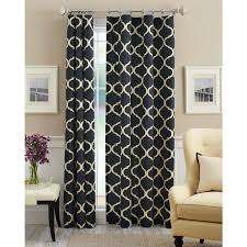 mainstays canvas iron work curtain panel walmart com