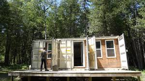100 Off Grid Shipping Container Homes He Built A 355 Sq Ft Tiny